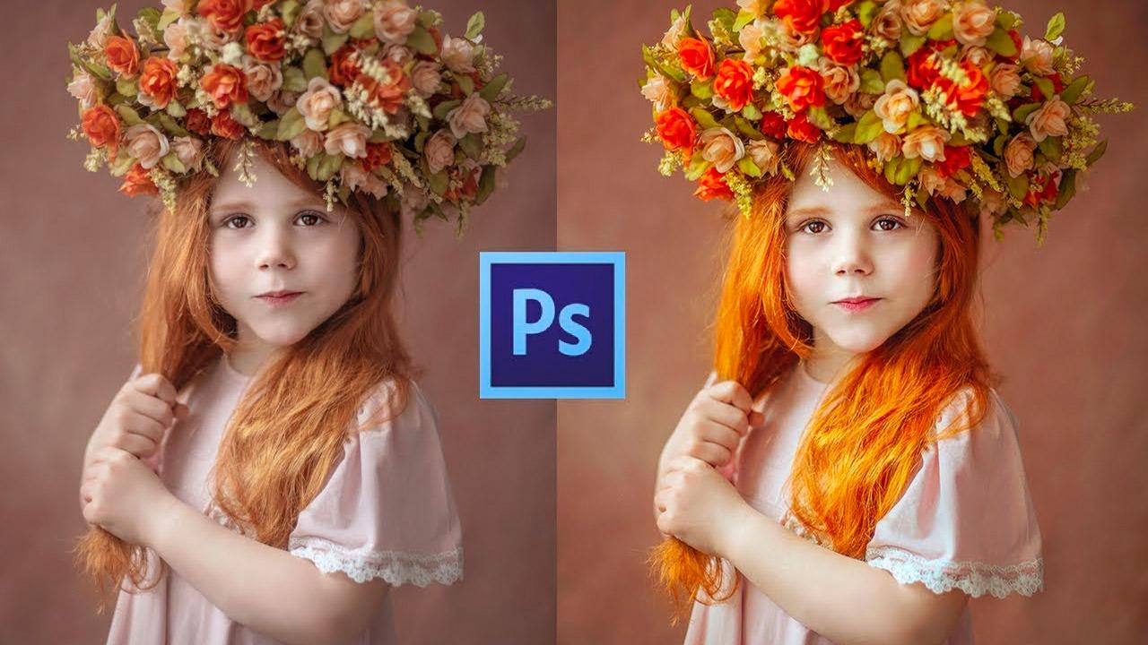 Técnica de color con Photoshop en fotos