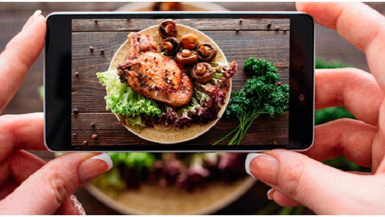App para hacer fotos de comida