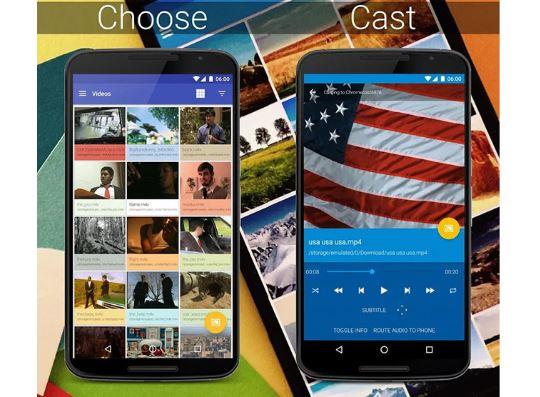 Con LocalCast compartes vídeos, fotos y música sin límite de tiempo