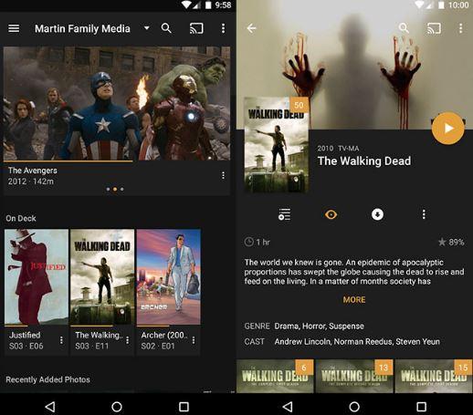 Plex para Android