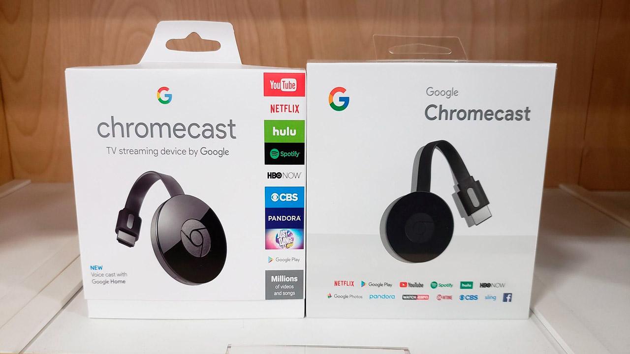 Caja Chromecast - aplicaciones compatibles