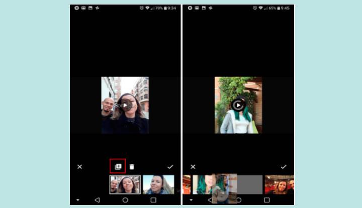 Cómo editar el vídeo 'Sonrisas de 2017' de Google Fotos