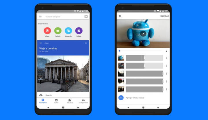 Cómo crear películas y montajes con el nuevo editor de vídeo de Google Fotos para Android
