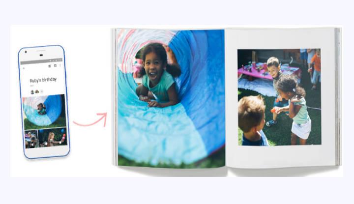 Google Photo Book llega a España: así puedes comprar tu libro impreso de tus fotos favoritas