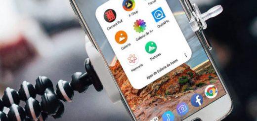 Destacadas aplicaciones de galería de fotos para Android